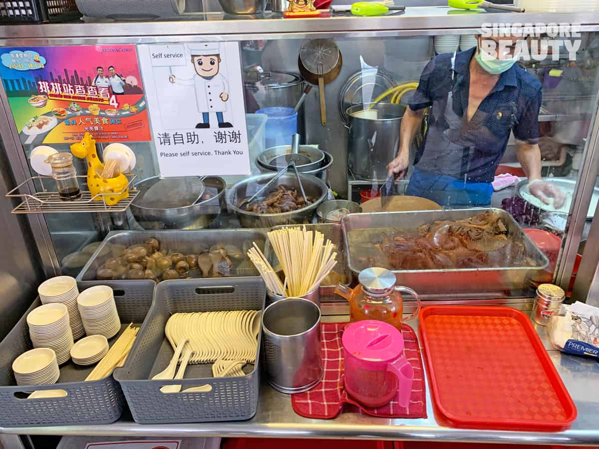 Guang Liang cooked food famous bedok hawker kway chap