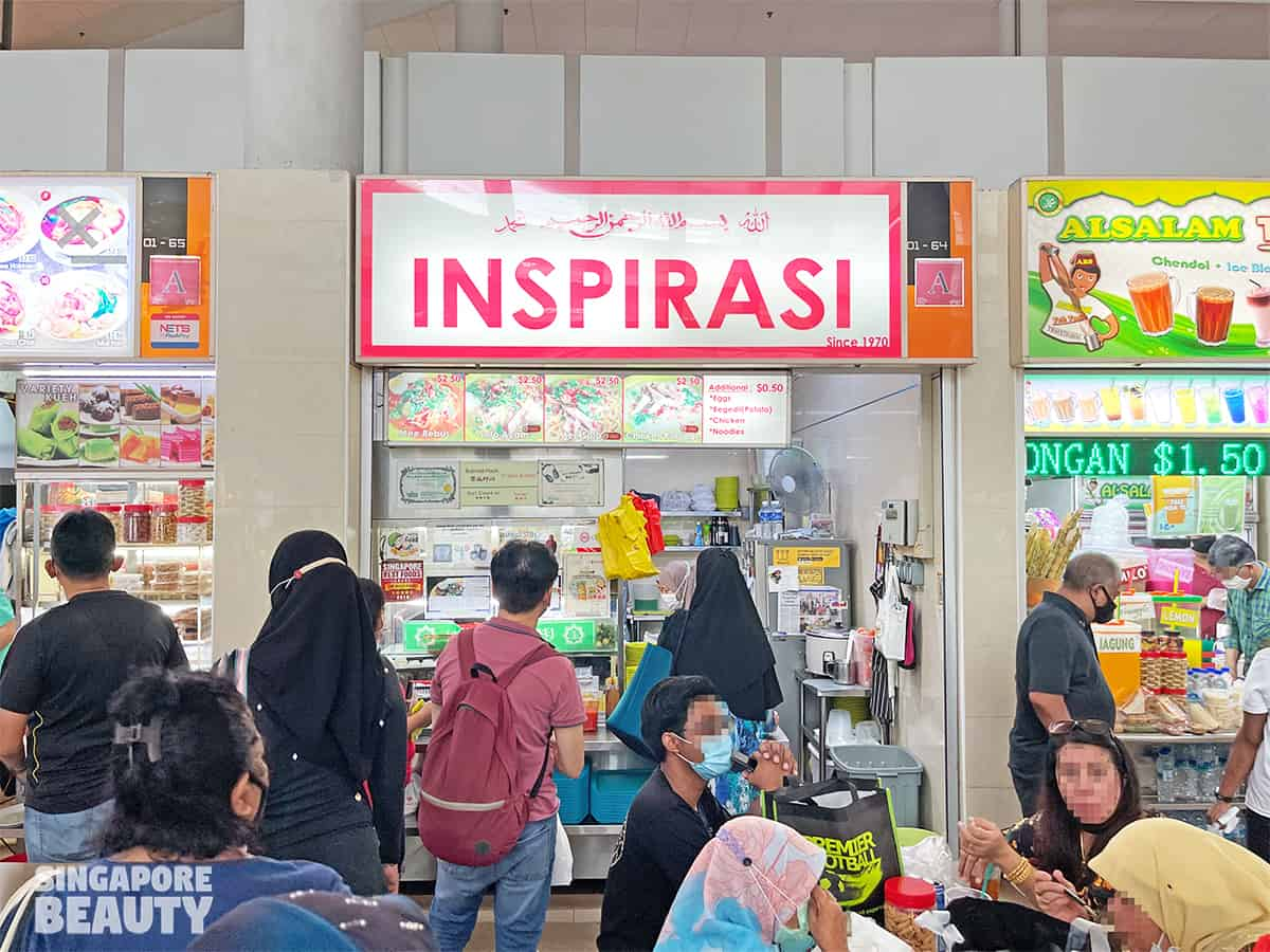 Inspirasi traditional malay food