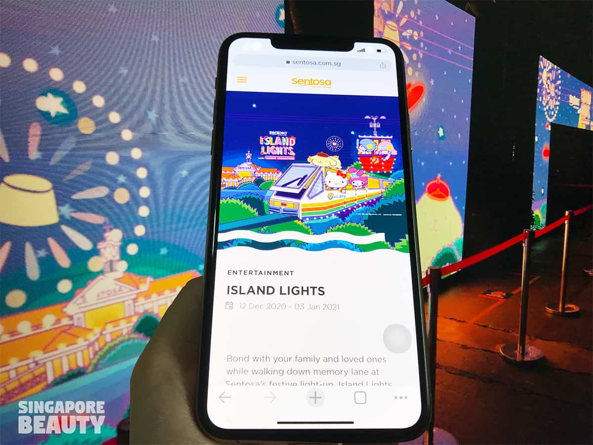 Island Lights with Sanrio Characters booking