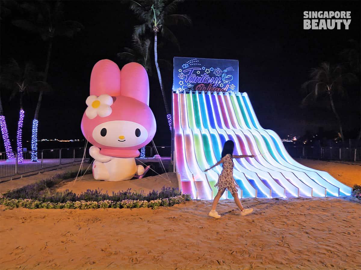 Island Lights with Sanrio Characters fantasy island