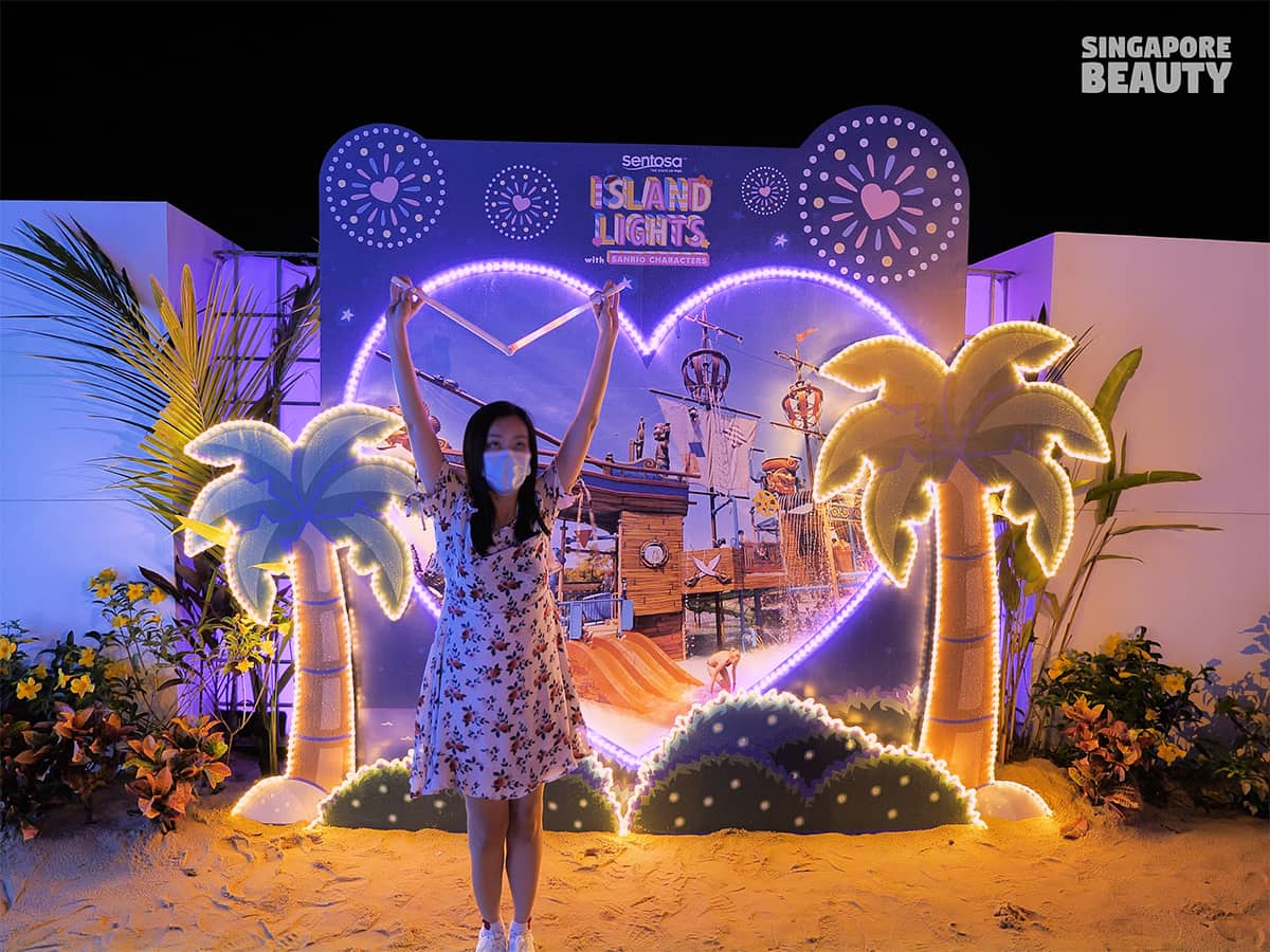 Island Lights with Sanrio Characters landmarks
