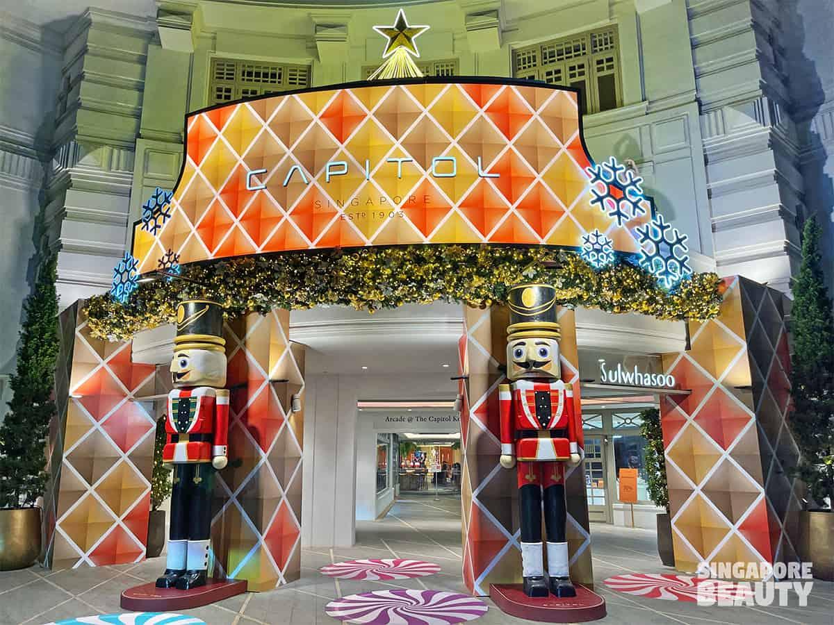 Nutcracker themed Christmas wonderland