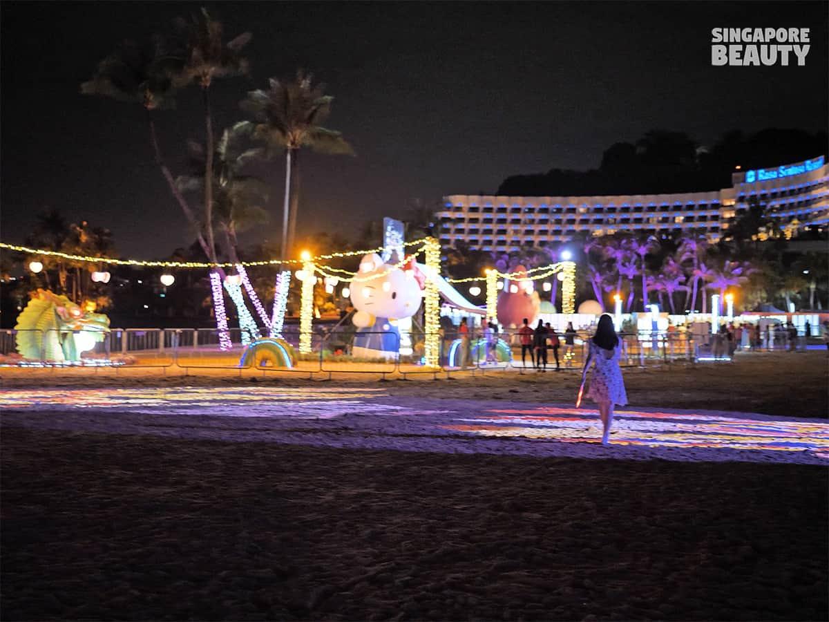Sentosa Island Lights with Sanrio characters 2020