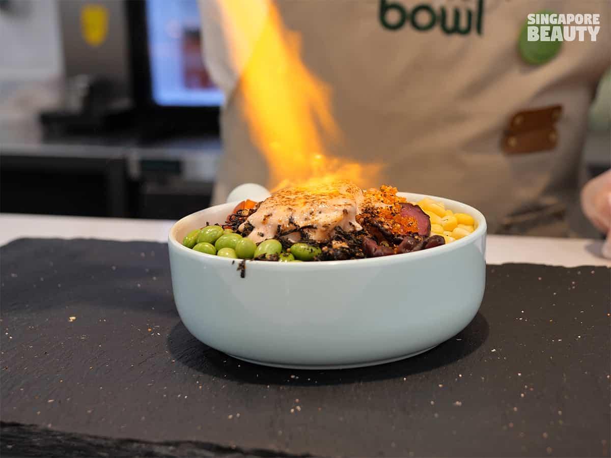 bowl & bowl salmon steak bowl