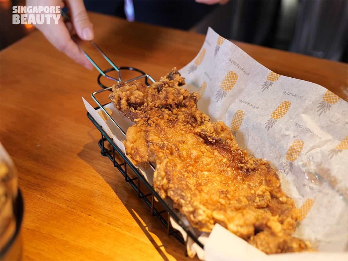 emo snacks chicken chop