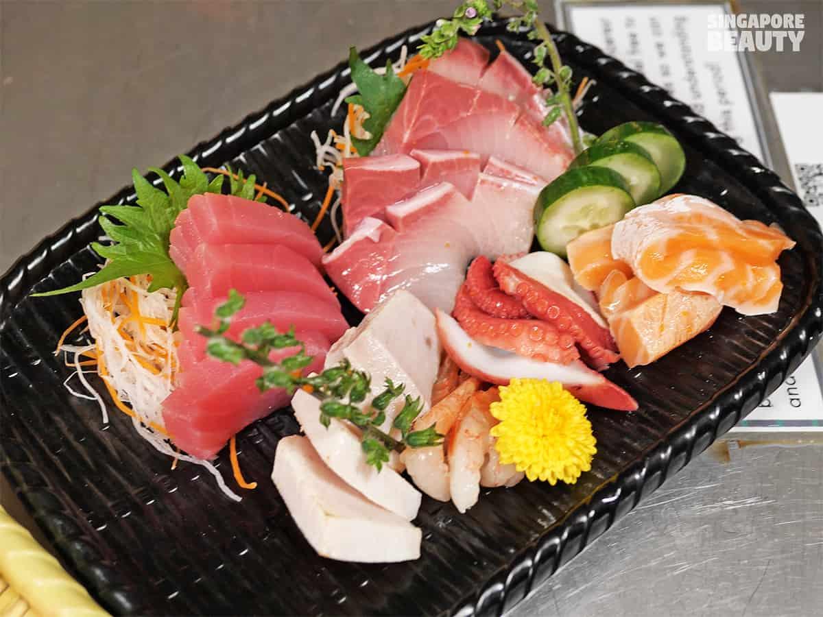 free flow sashimi buffet