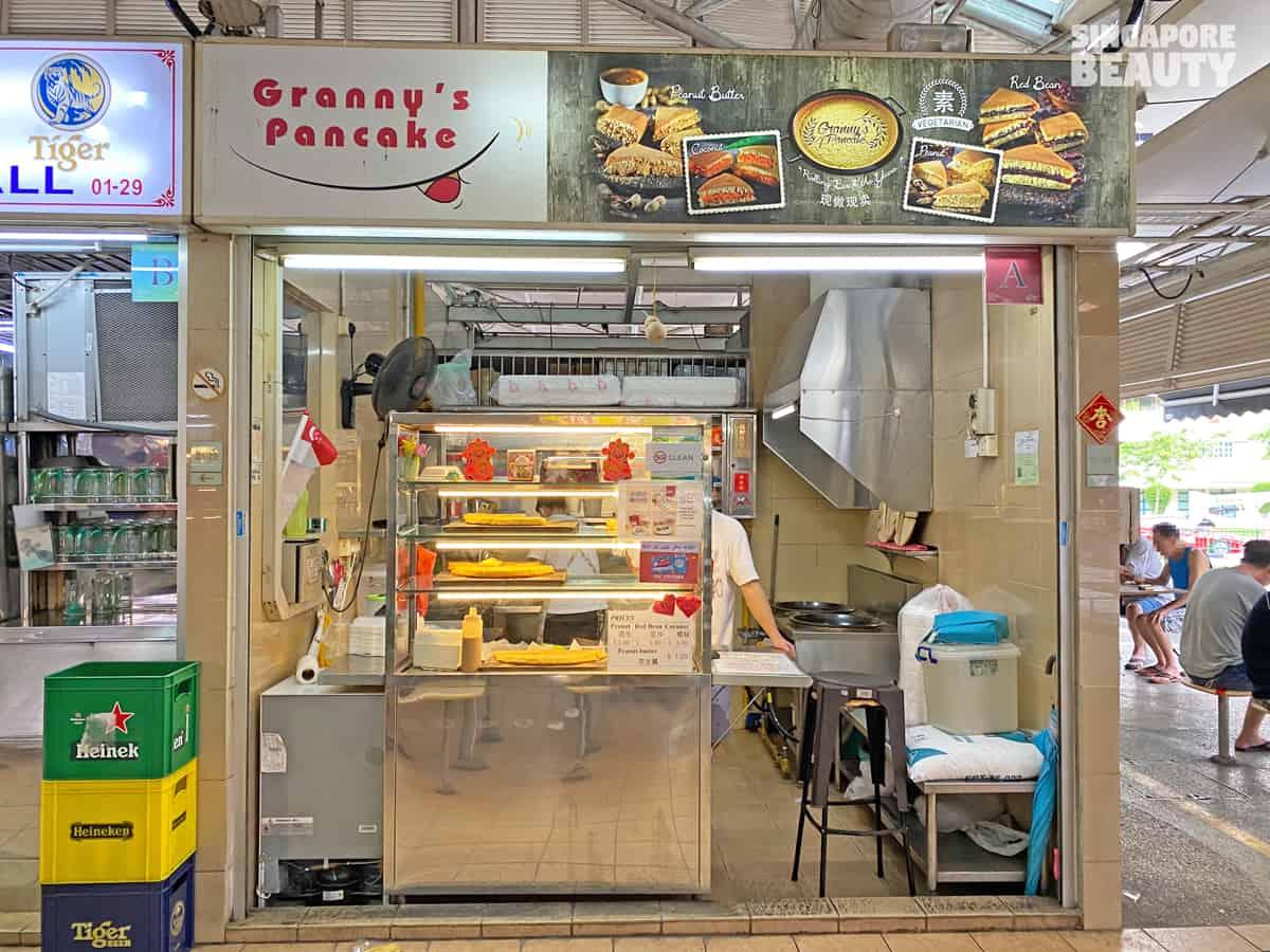 granny pancake bedok reservoir food centre