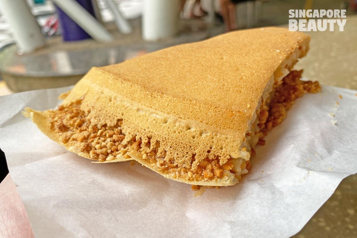 granny pancake edge slice