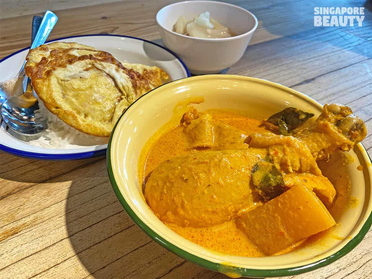 review of singapore chicken curry set