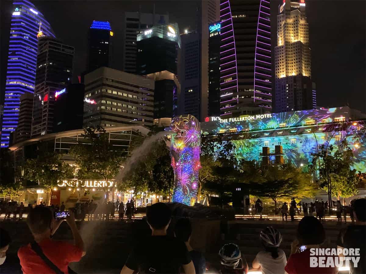 share the moment marina bay singapore