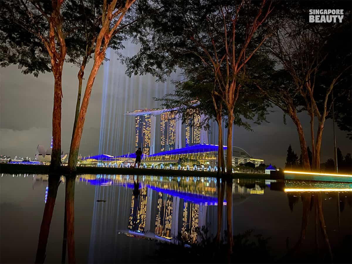 shine a light marina bay promontory 2021