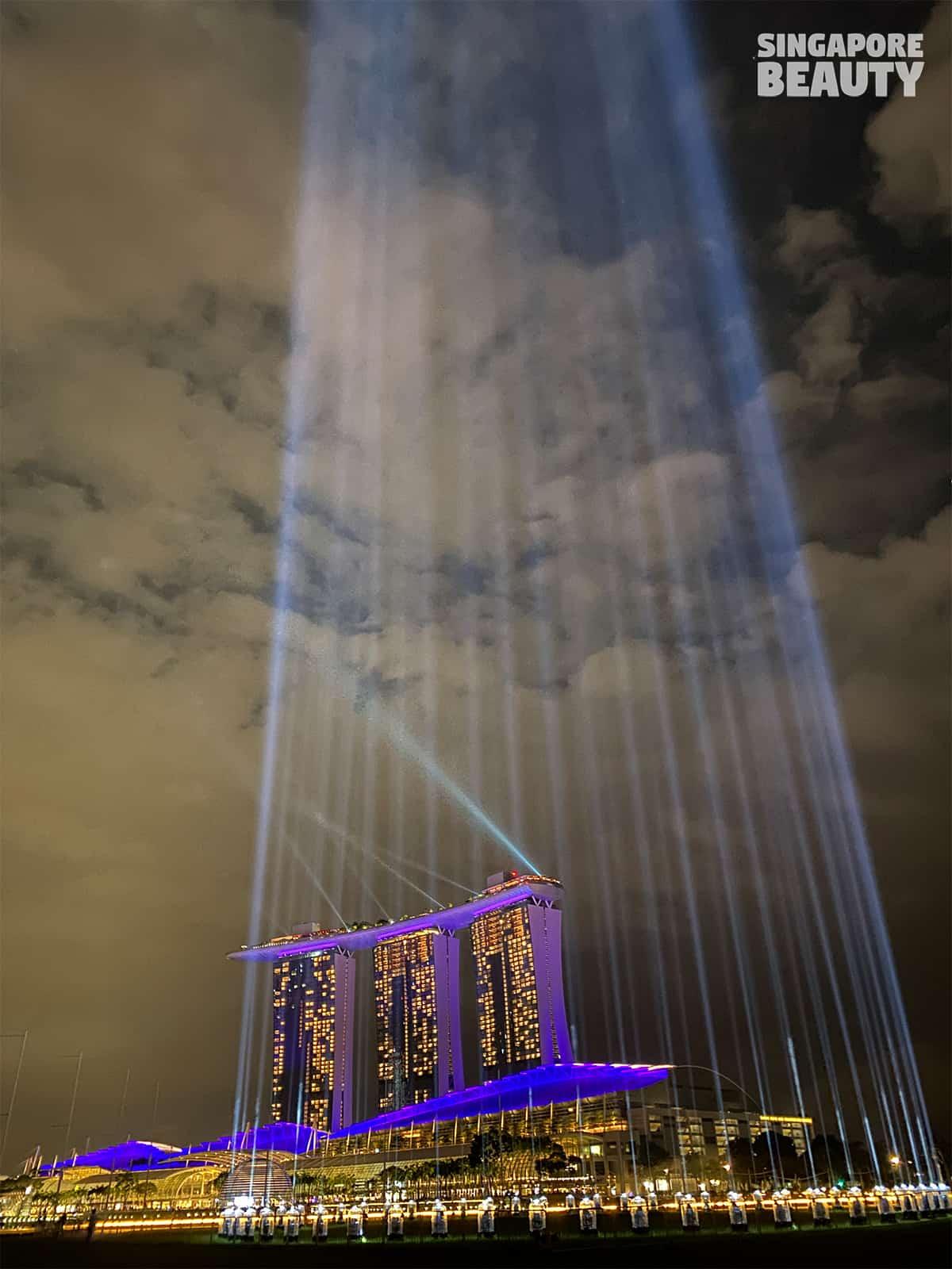 shine a light promontory marina bay countdown beams