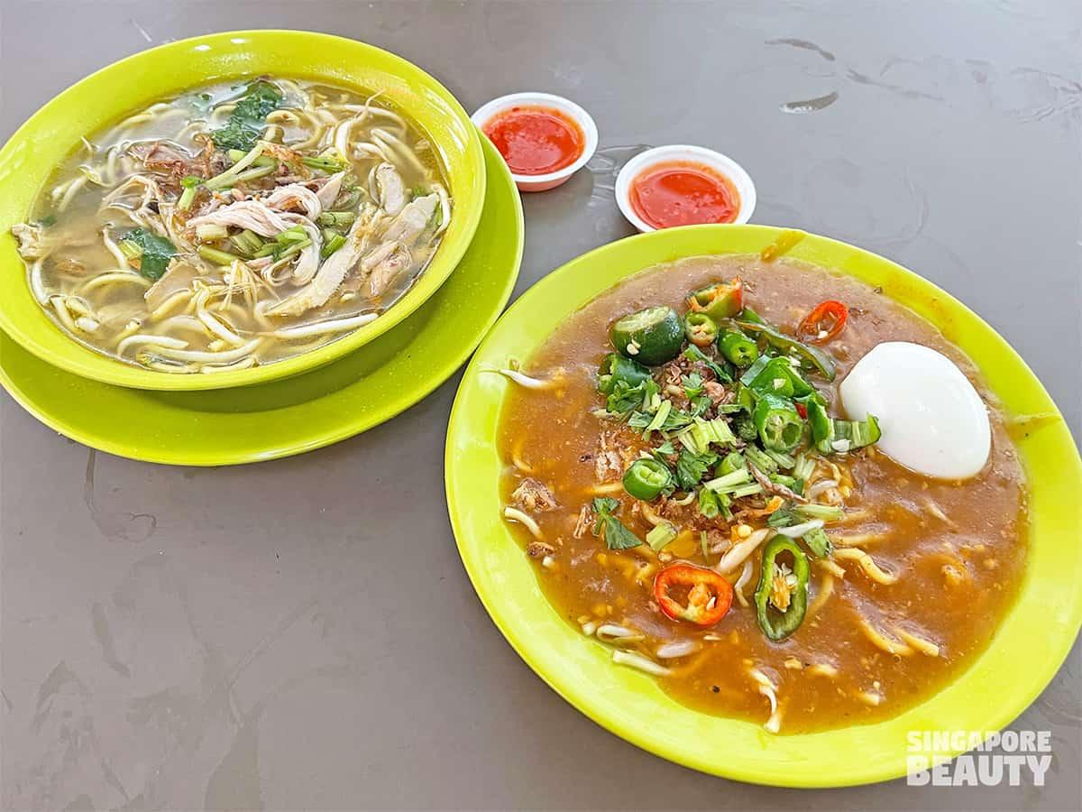 singapore cheapest mee rebus mee soto