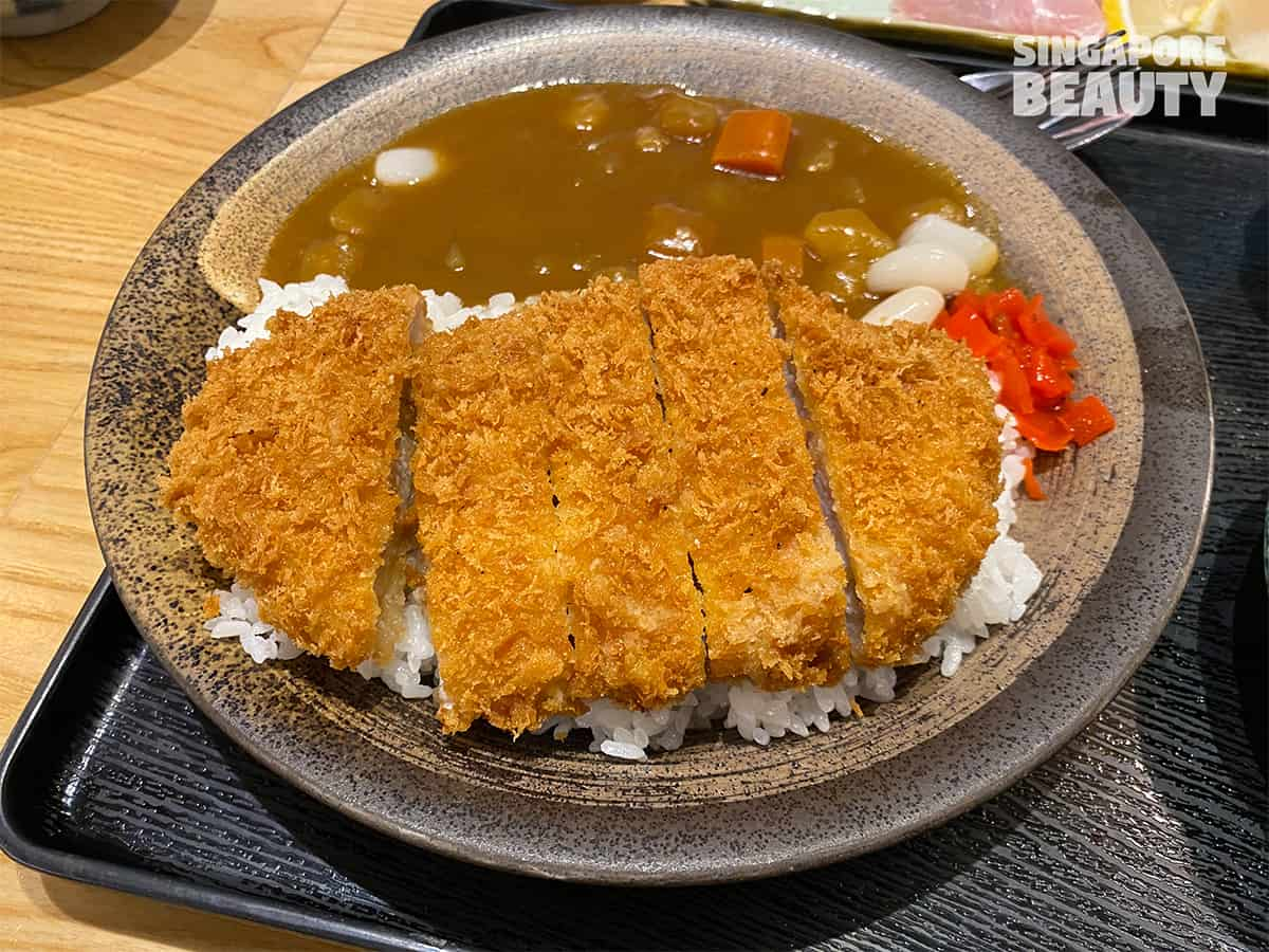 Tonkichi Sushi and Tonkatsu food review