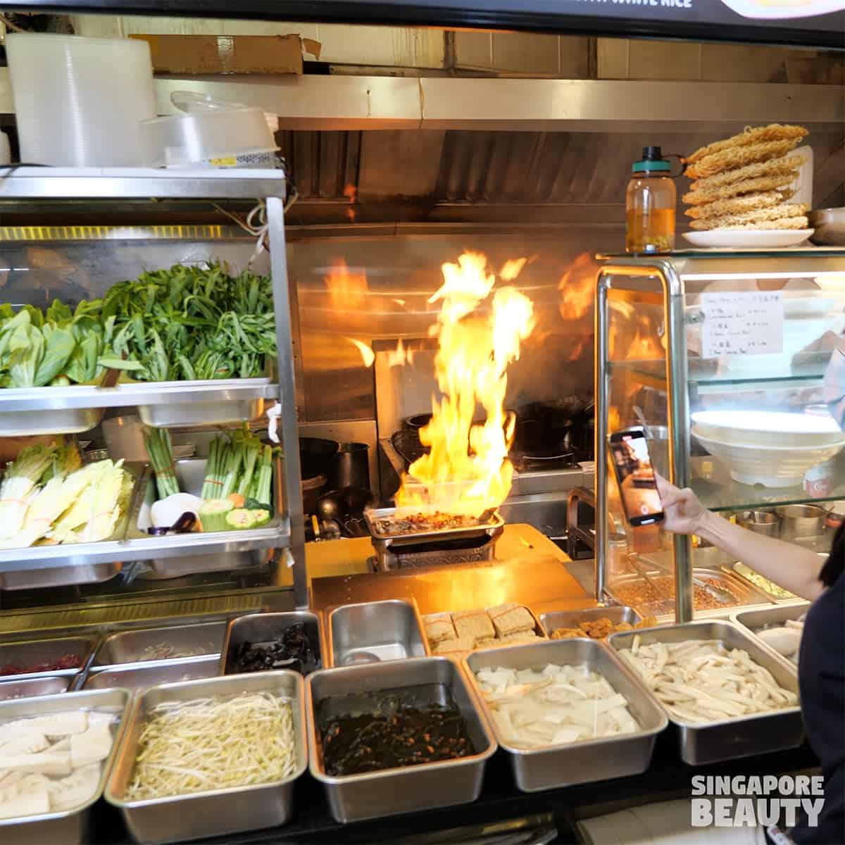 Wang Xing Mala Kitchen singapore first fire grilled fish mala