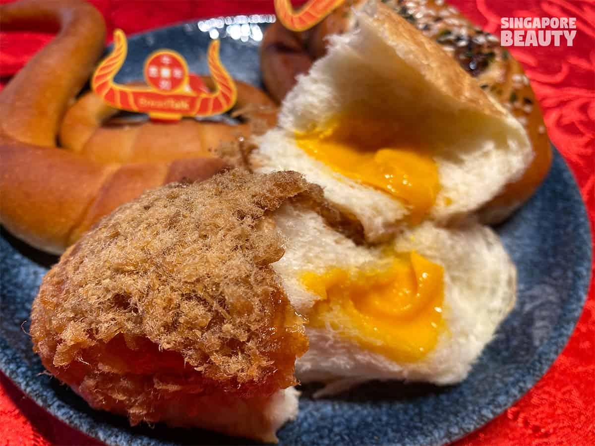 breadtalk salted egg creation