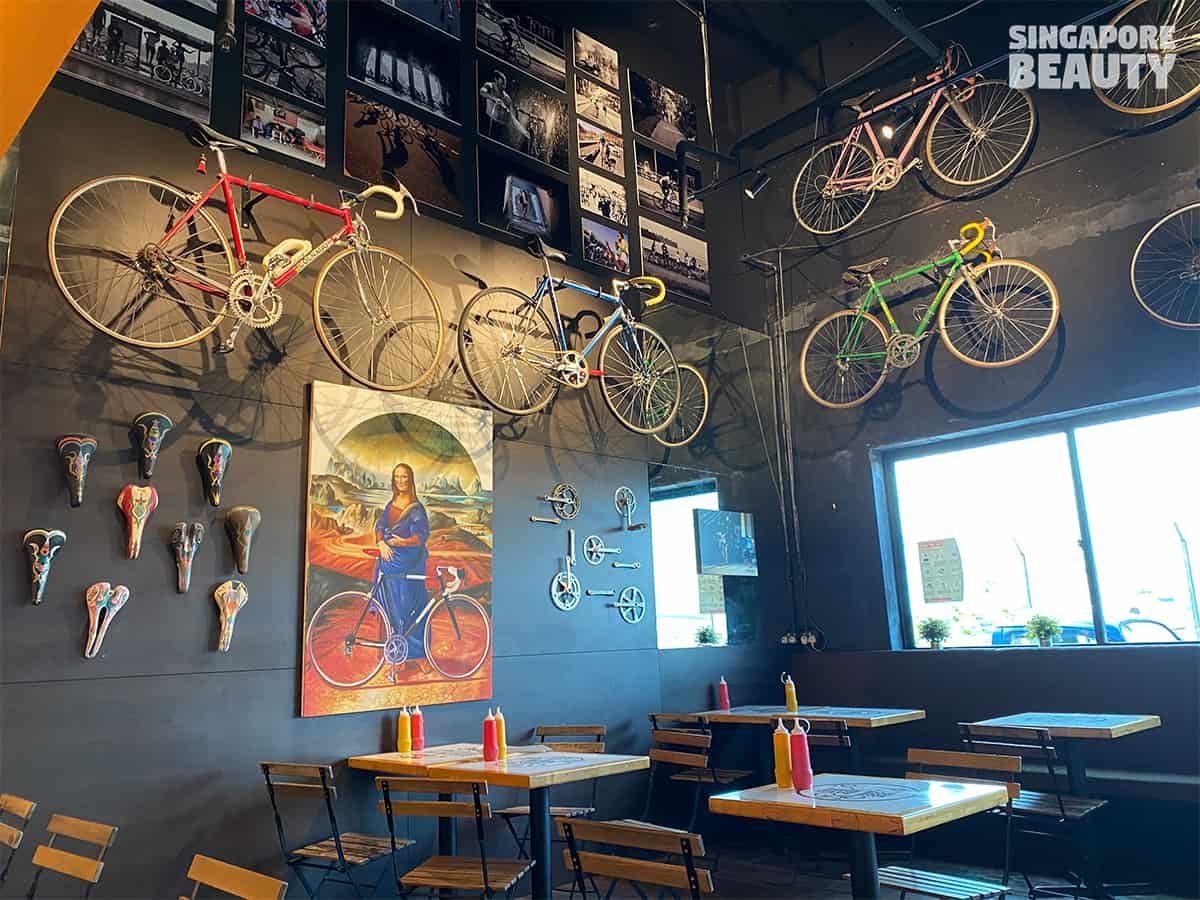 soek seng 1954 bicycle cafe art gallery