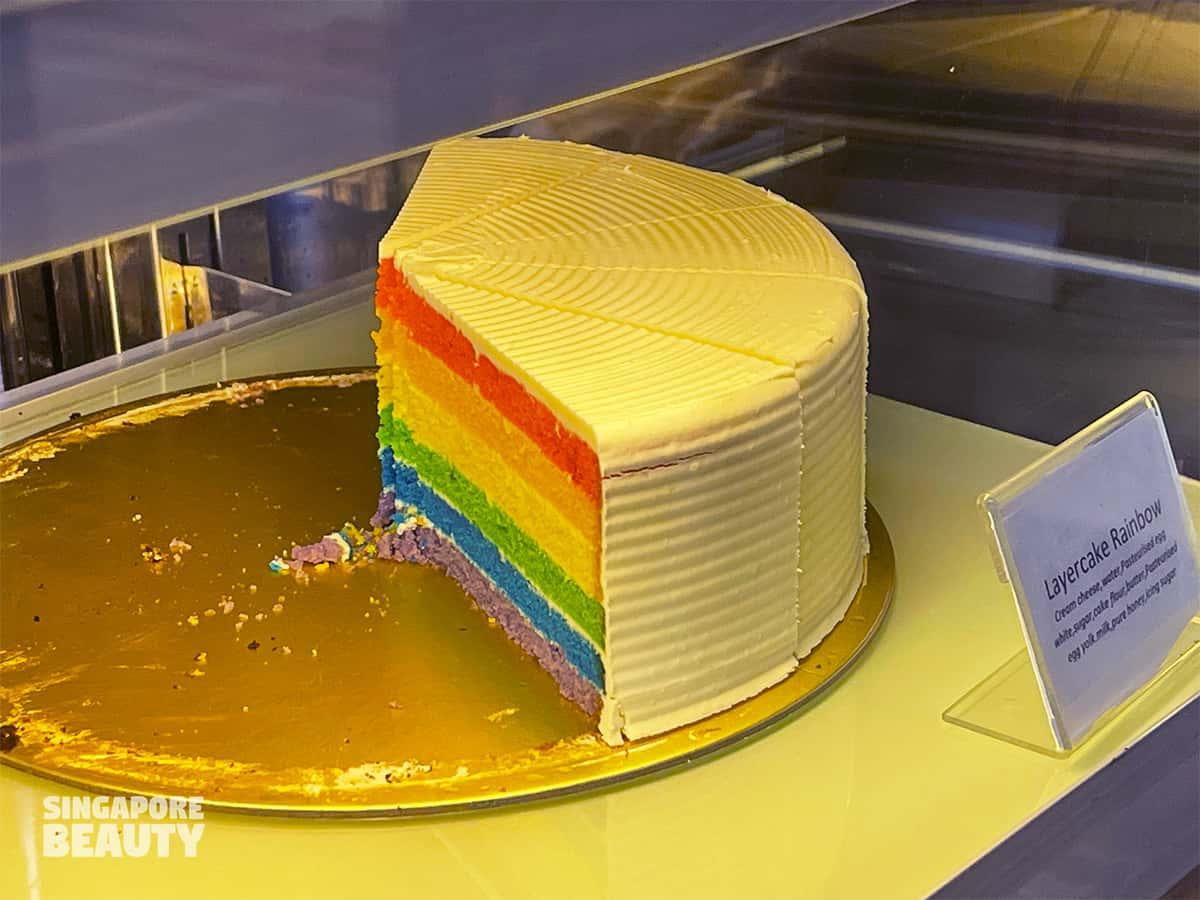 soek seng 1954 bicycle cafe planes rainbow cake