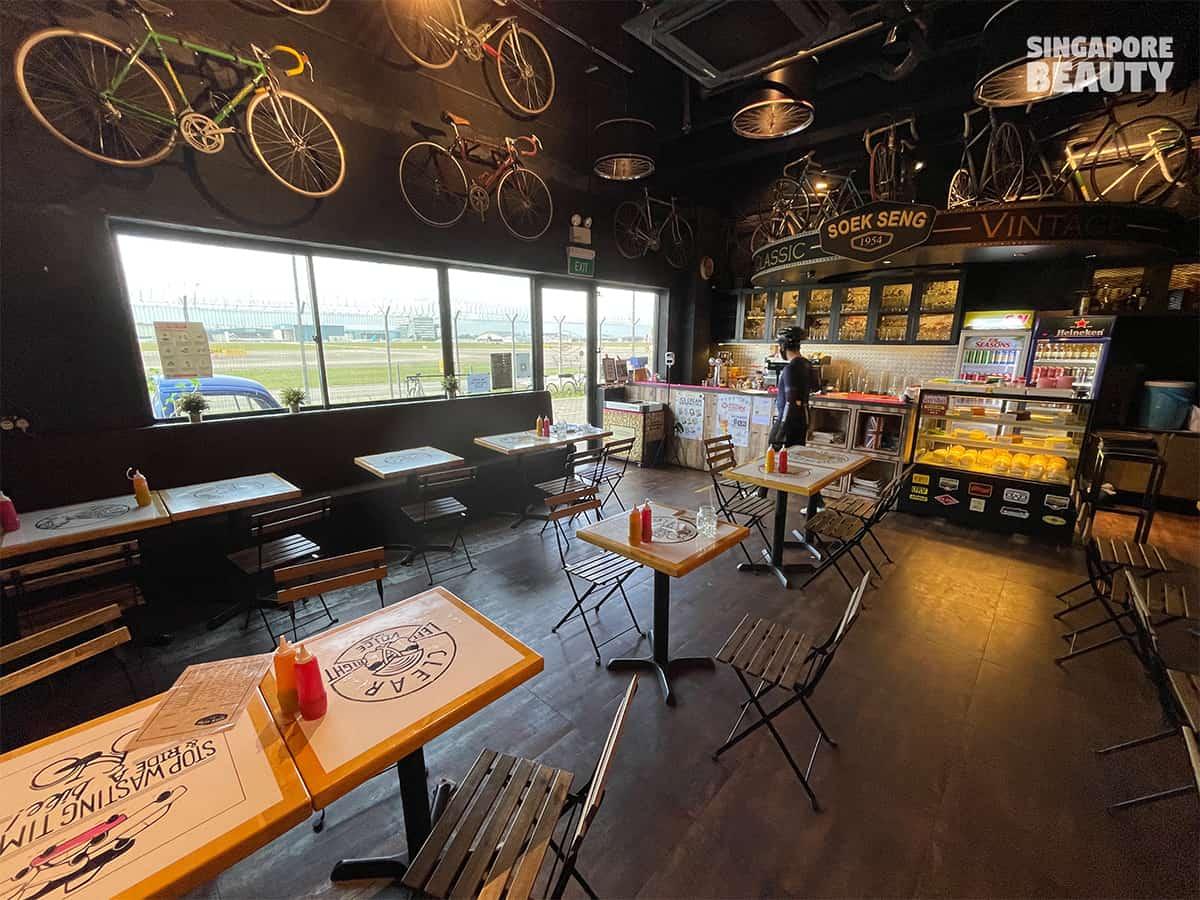 soek seng 1954 bicycle cafe reservation