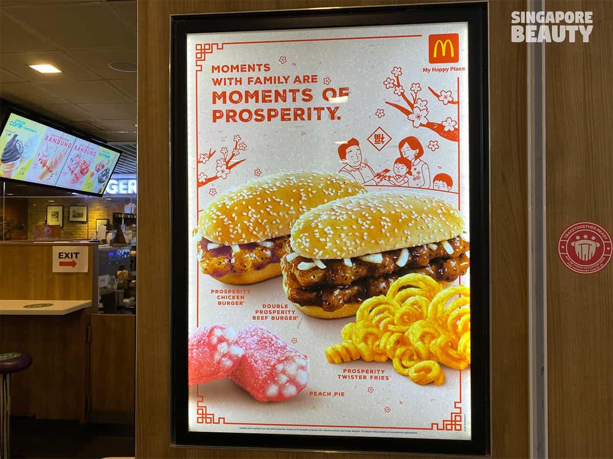 McDonald prosperity burger