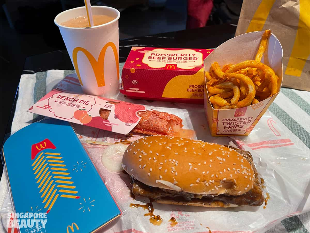 McDonald prosperity feast