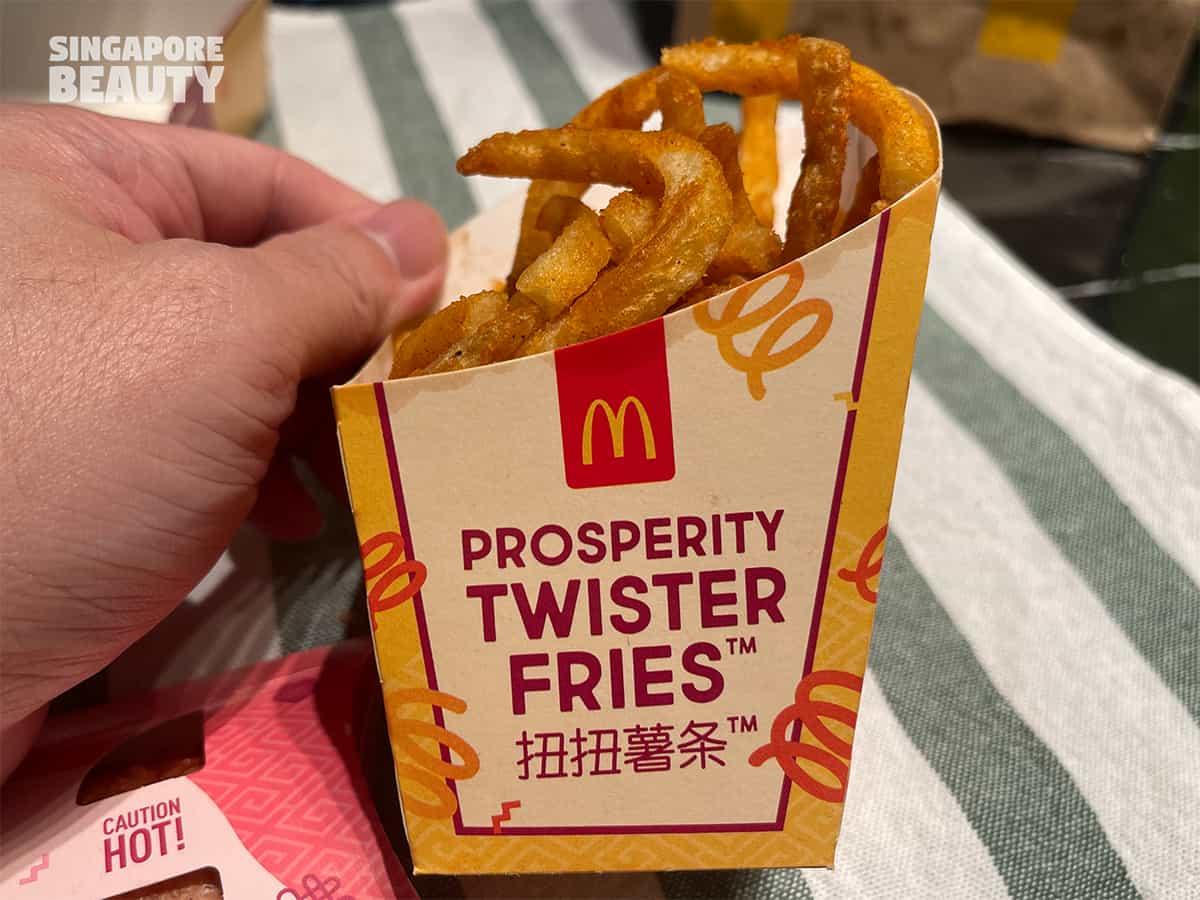 McDonald prosperity twister fries
