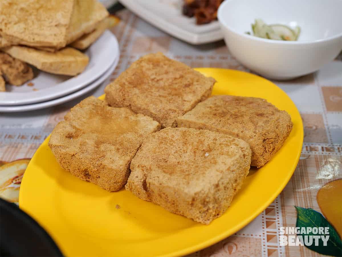 Mini star review fermented beancurd stinky tofu