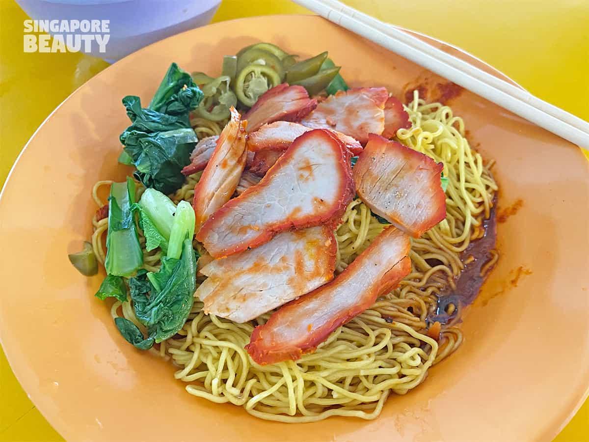 famous tanglin halt wanton noodles