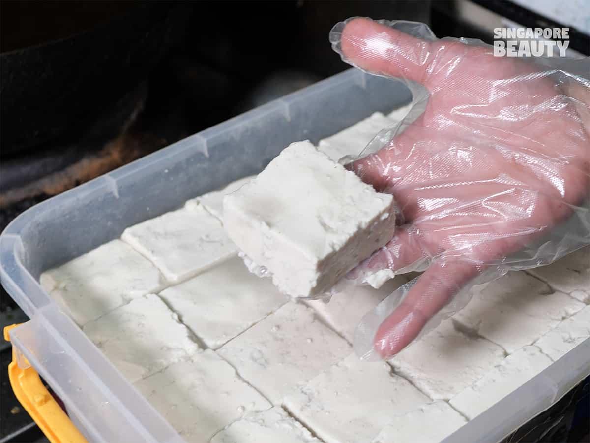 fermented stinky tofu