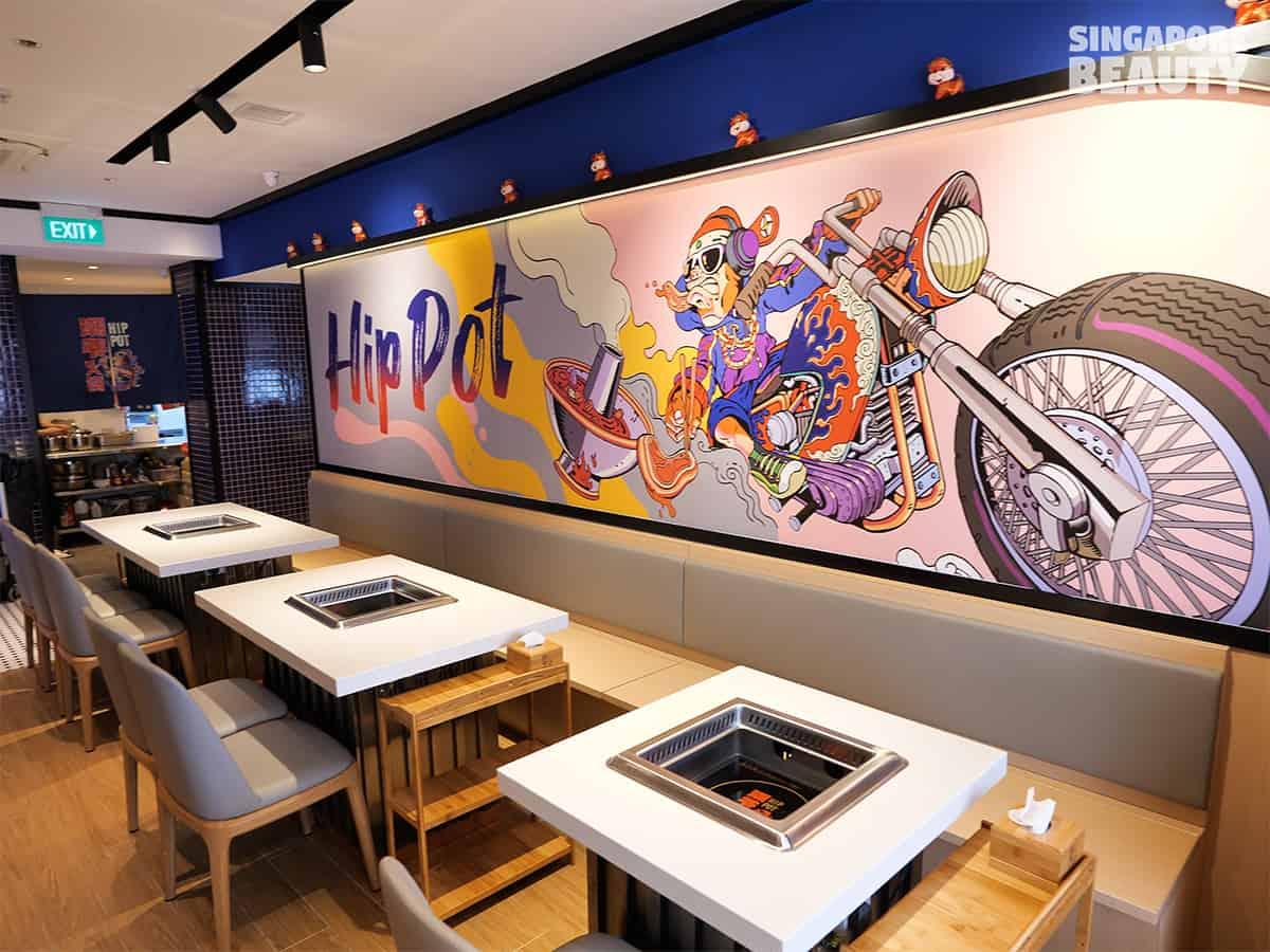 hipster interior restaurant