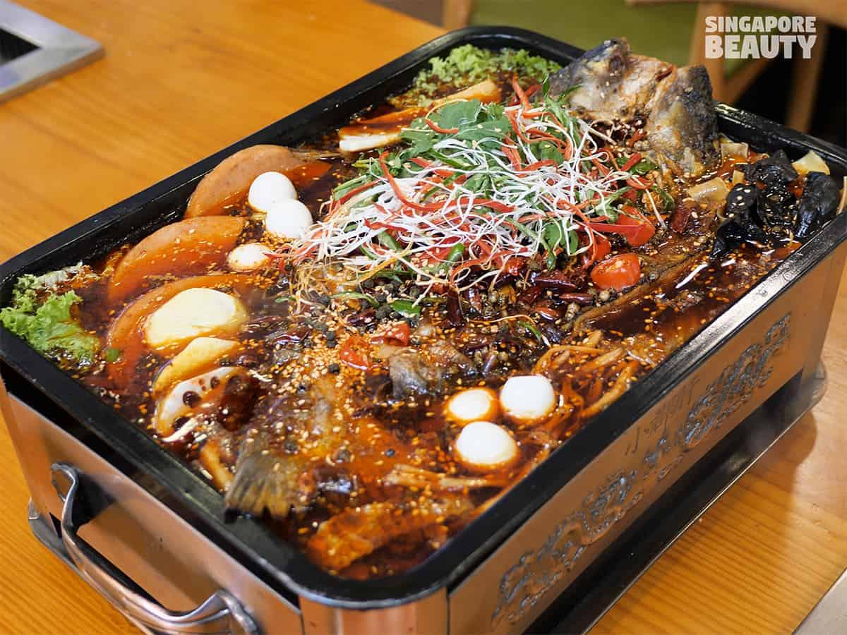 xiao jun gan buffet grilled fish bbq hotpot bugis no time limit