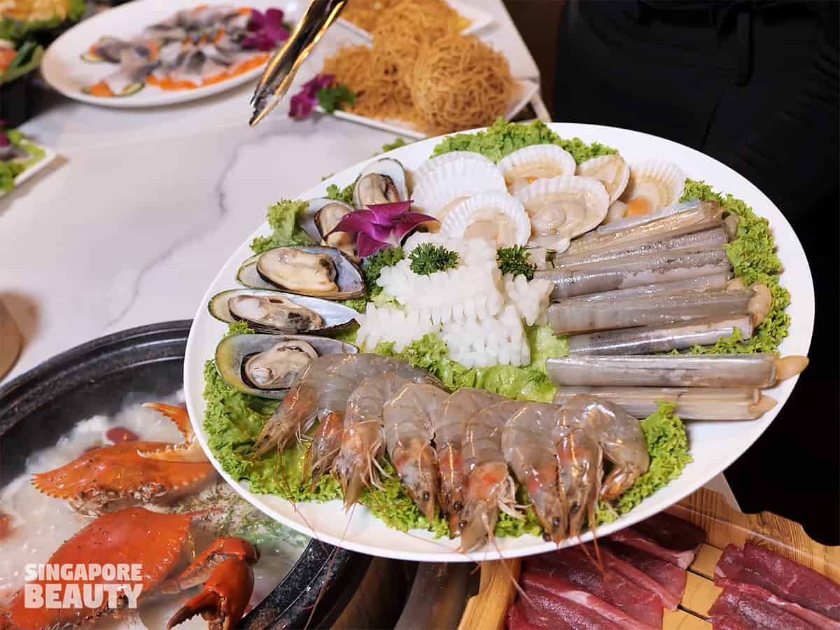 Jiugongge seafood hotpot buffet