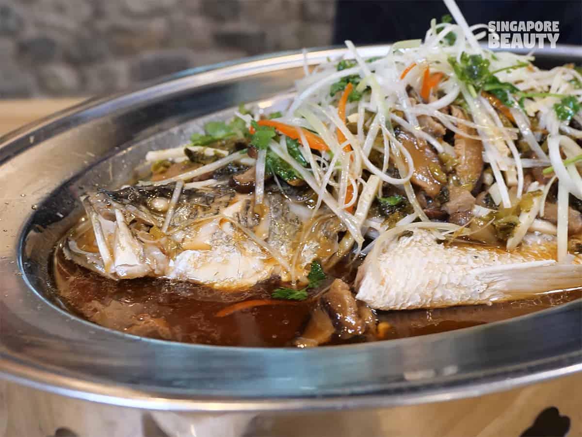 chopstick kitchen Shanghainese steamed fish