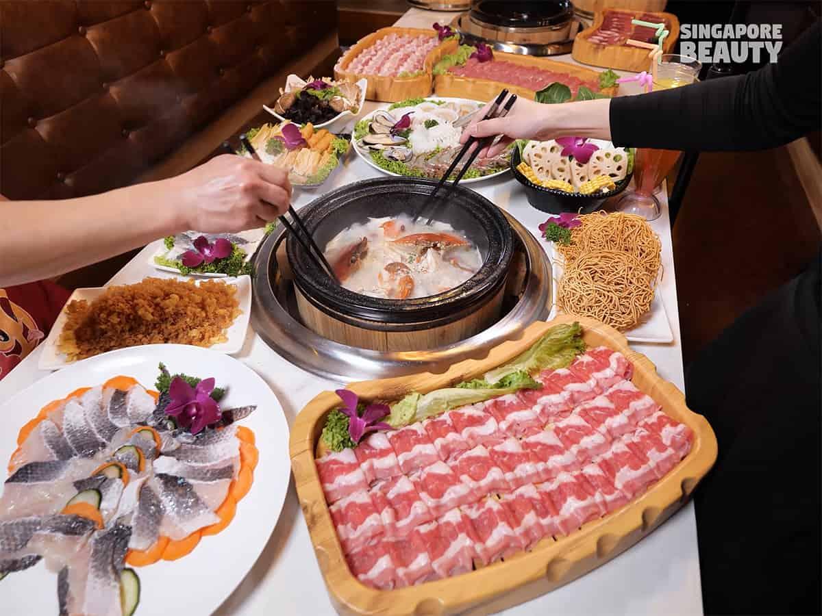 hot stone buffet