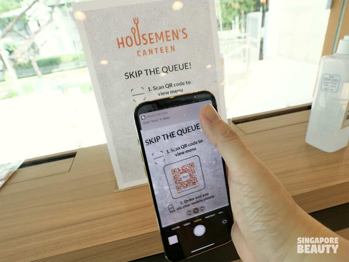 housemen canteen menu
