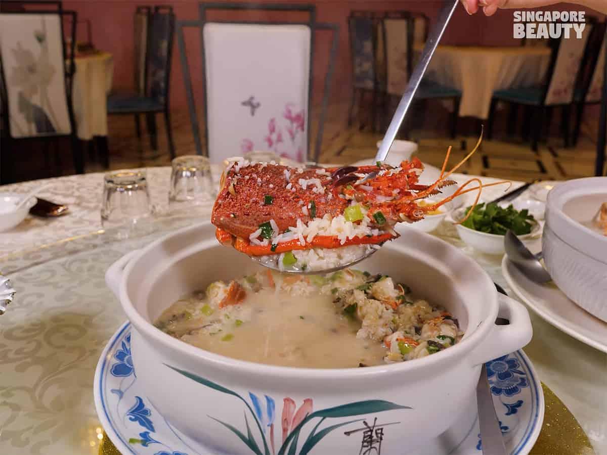 Australian lobster pao fan