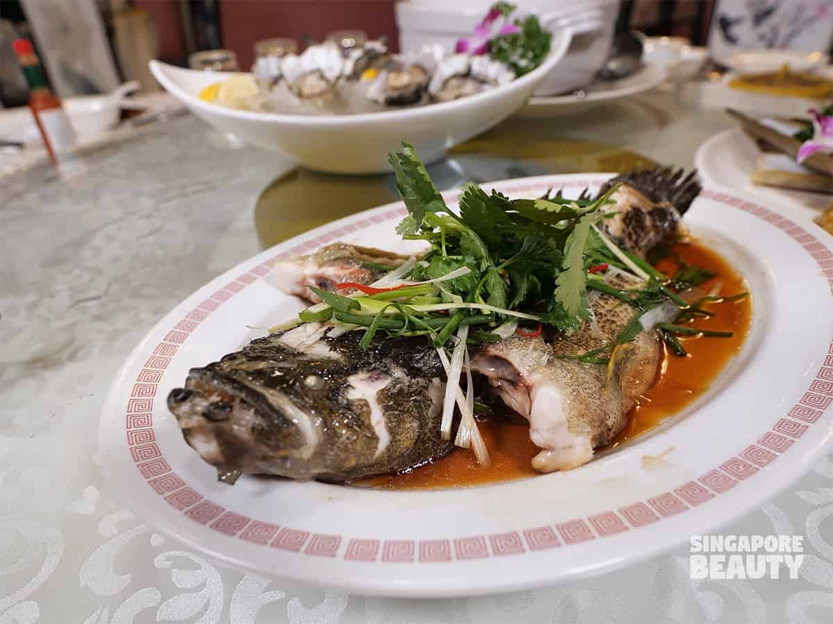 xi yan seafood restaurant marble goby