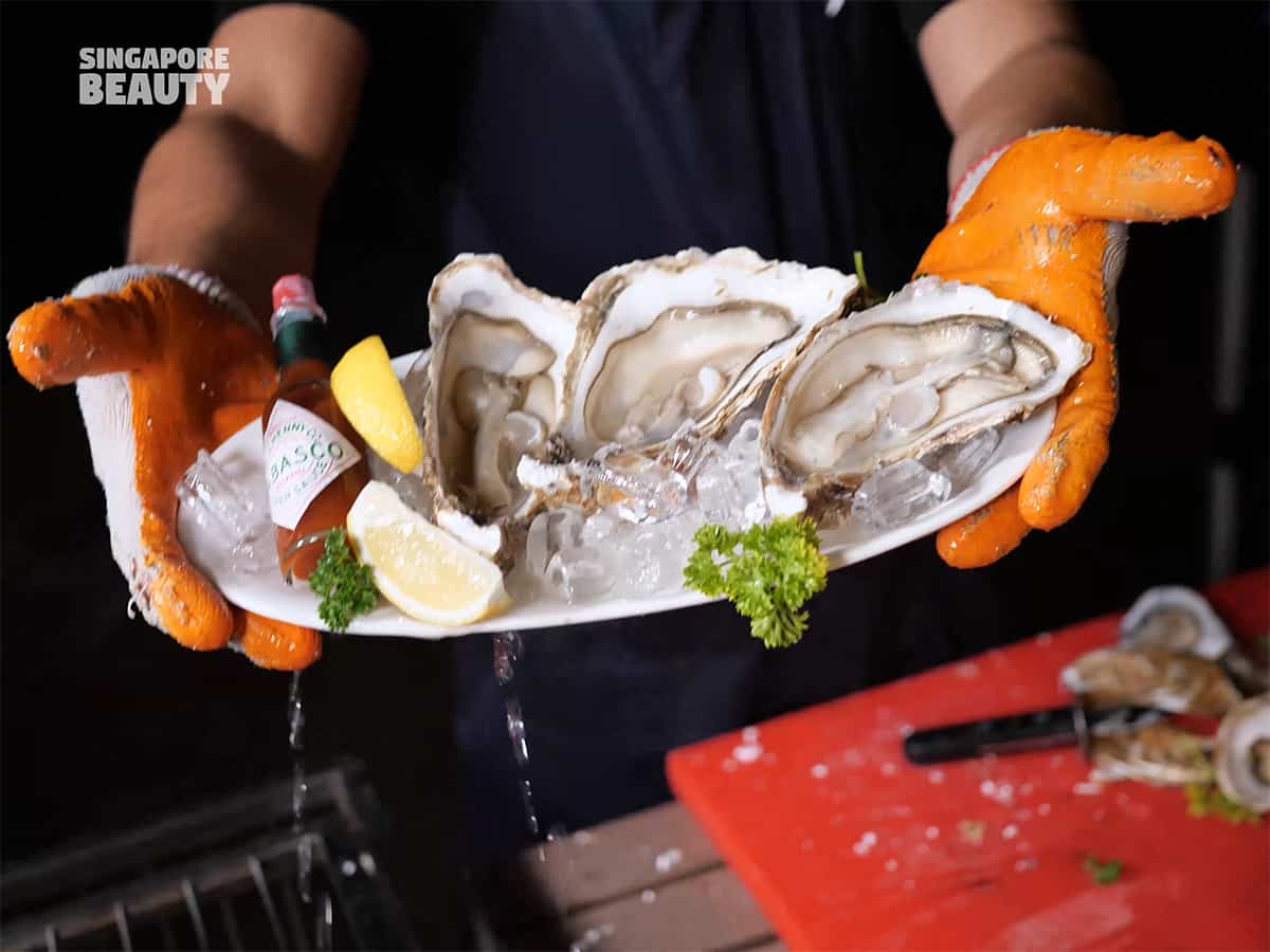 oyster-on-rocks