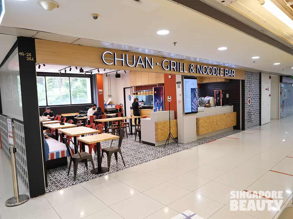 chuan grill and noodle bar far east plaza