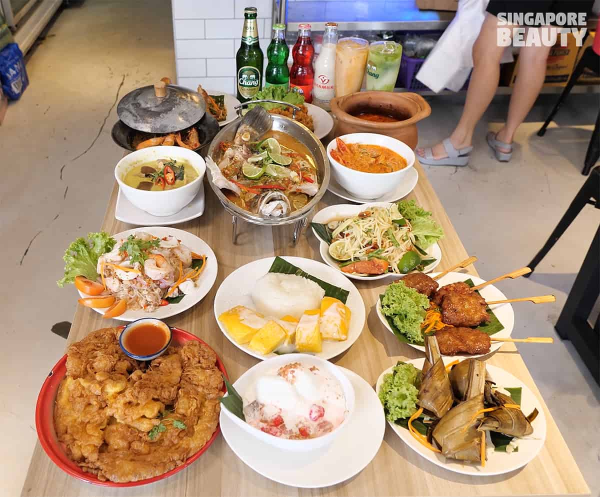kin kin thai 888 food feast Singapore