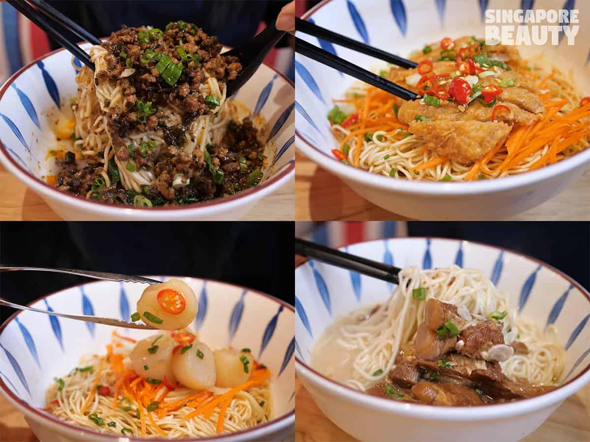 noodle options