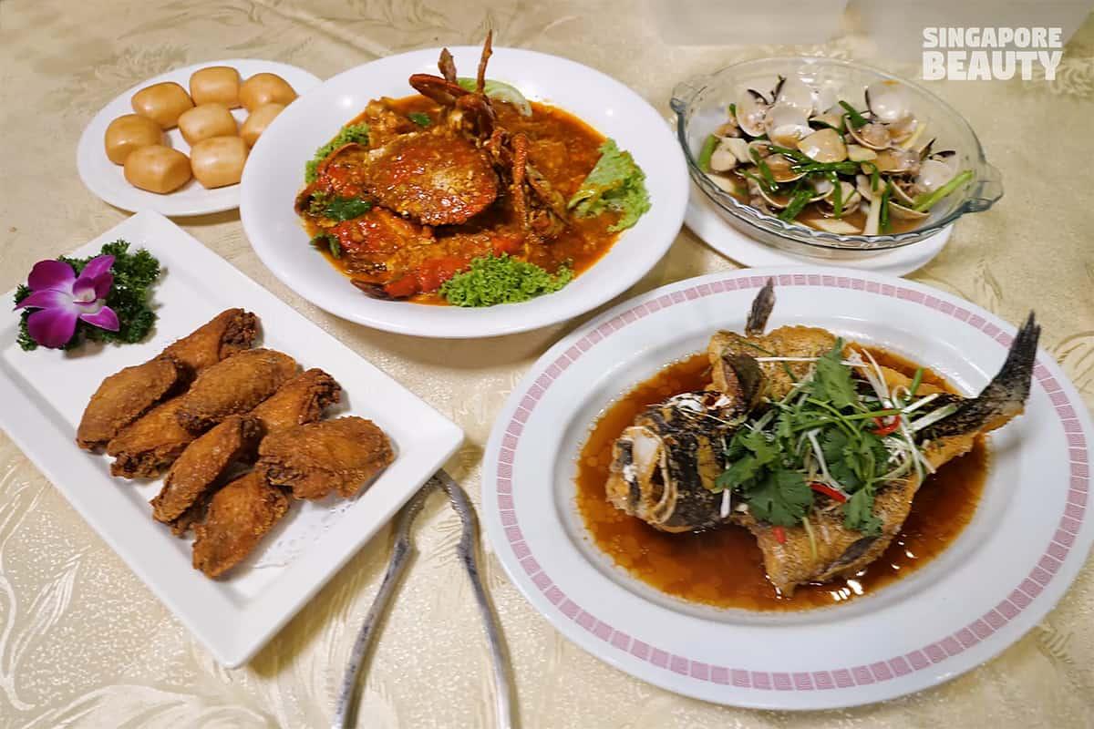 xi yan seafood restaurant combo A