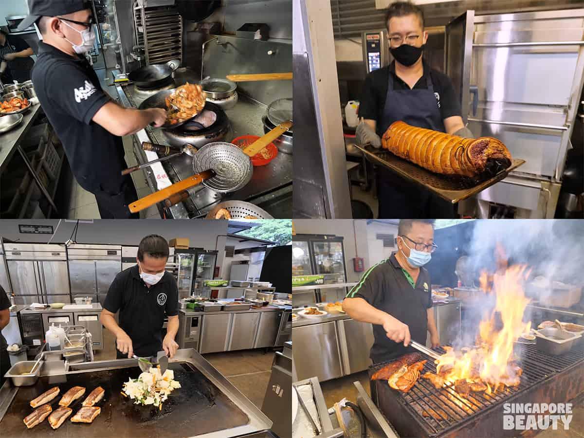 teppanyaki grill bake