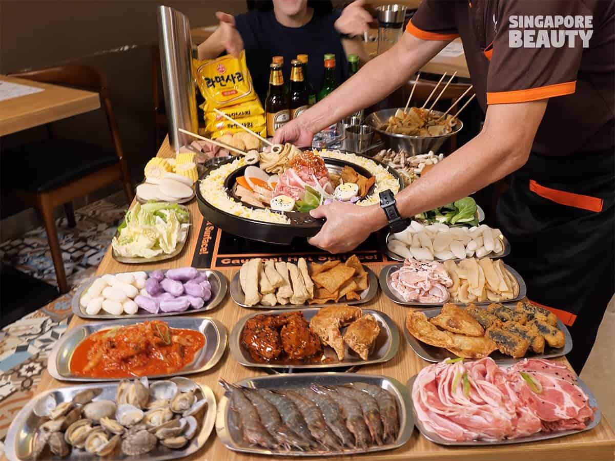 90 minutes Tteokbokki korean hotpot buffet