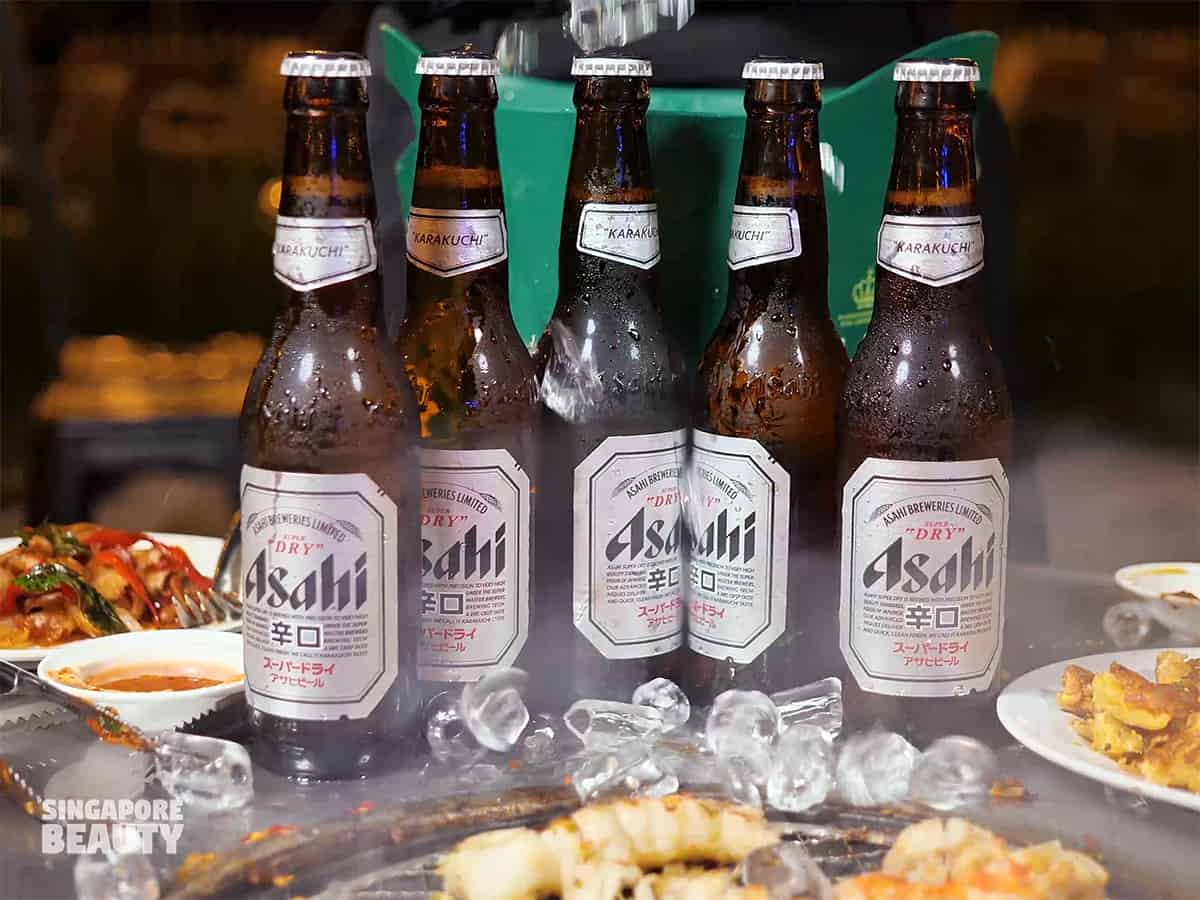 the three peacocks beer promo