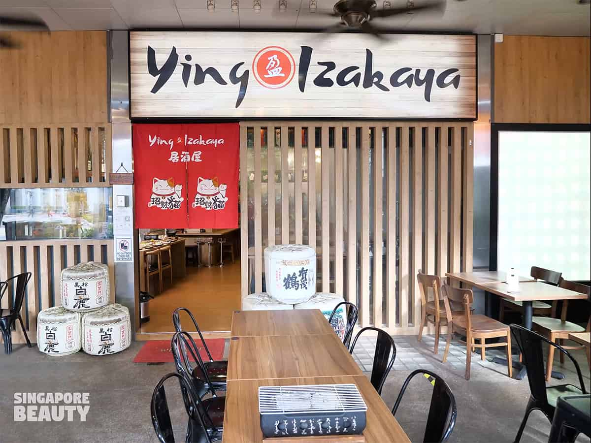 Ying izakaya Bugis point food