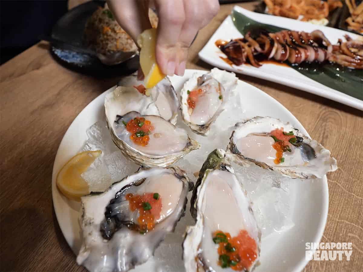 Ying izakaya fresh oyster