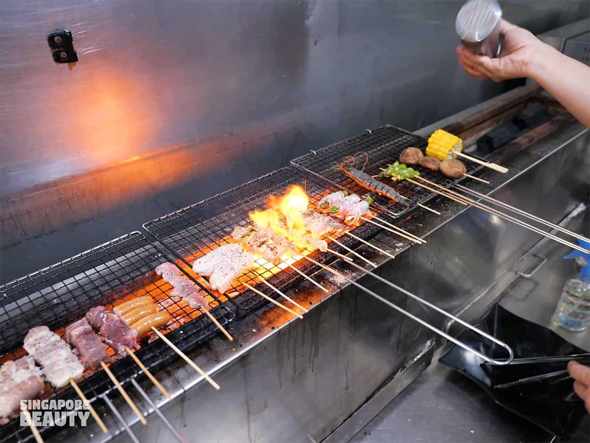chef cooked kushiyaki