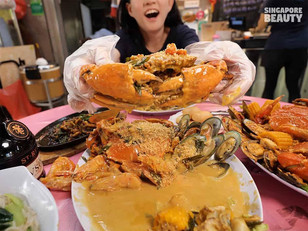 katong jago zhi char butter cream crab