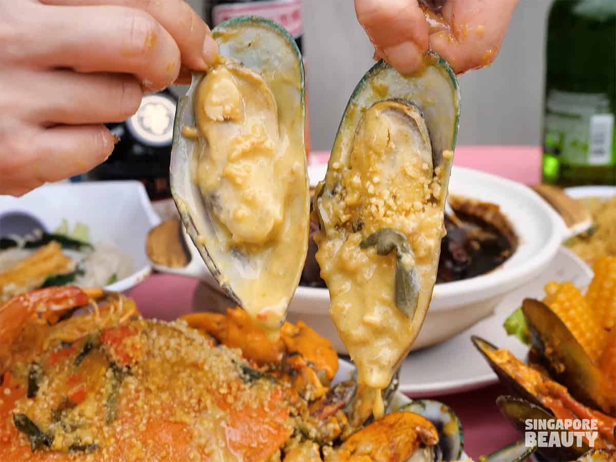 katong jago zhi char mussel